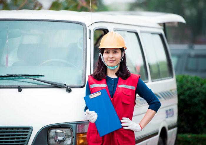 Cho thuê taxi tải Thành Hưng Nam Định
