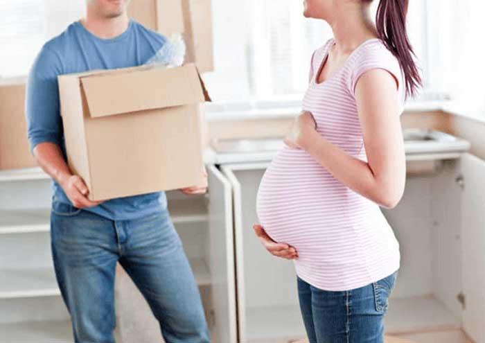 Có nên chuyển nhà khi mang bầu