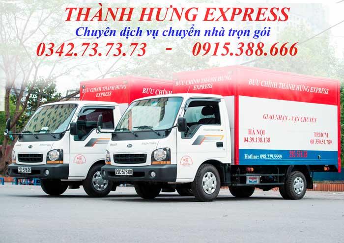 Dịch vụ chuyển nhà Thành Hưng Chuyên nghiệp