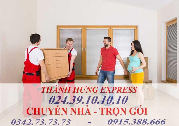 Dịch vụ chuyển nhà trọn gói tại Hà Đông chuyên nghiệp