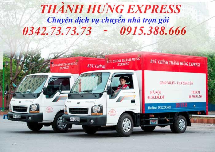 Dịch vụ chuyển nhà trọn gói tại Thái Bình giá rẻ