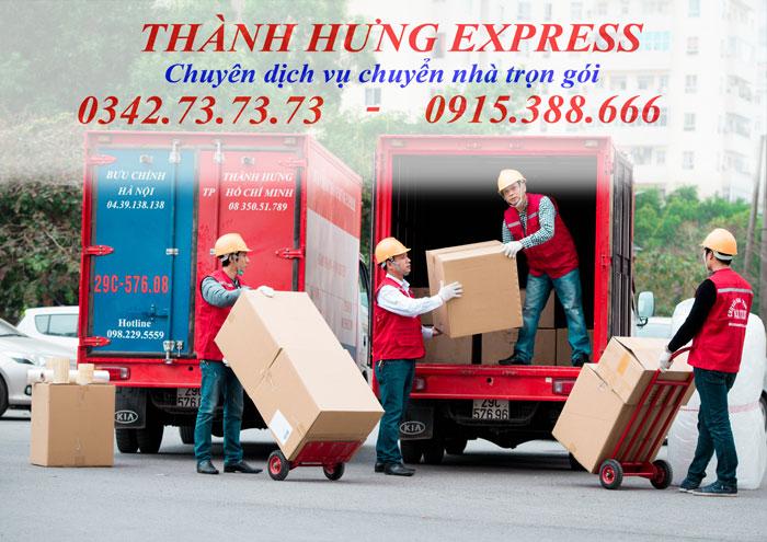Dịch vụ chuyển nhà trọn gói tại Thái Bình uy tín