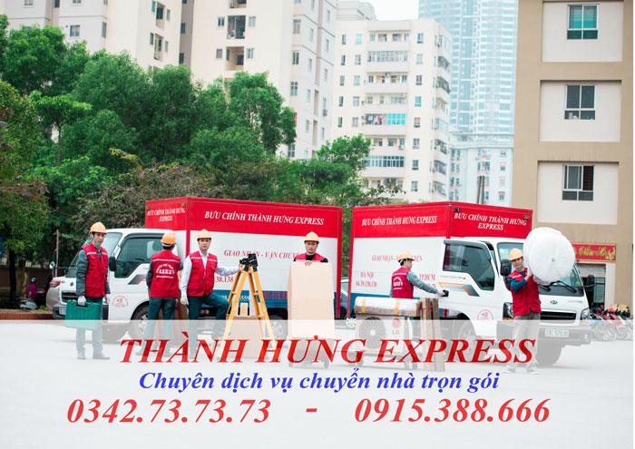Dịch vụ chuyển nhà trọn gói tại Thái Bình