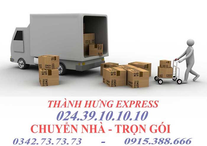 Dịch vụ chuyển nhà trọn gói tại Thái Nguyên chuyên nghiệp