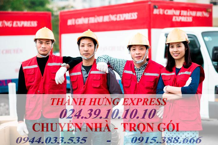 Dịch vụ chuyển nhà trọn gói tại Thái Nguyên giá rẻ