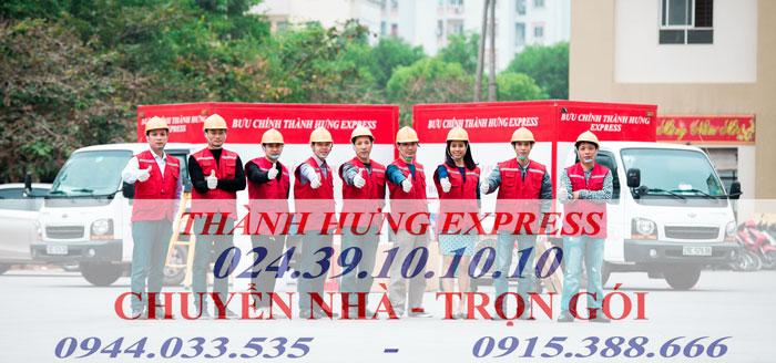 Thuê xe tải Thành Hưng tại TP. HCM