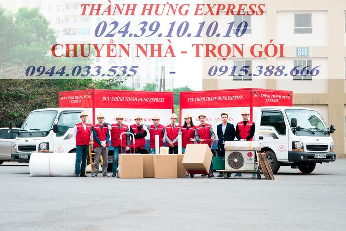 Dịch vụ chuyển nhà trọn gói tại Quận Tây Hồ chuyên nghiệp