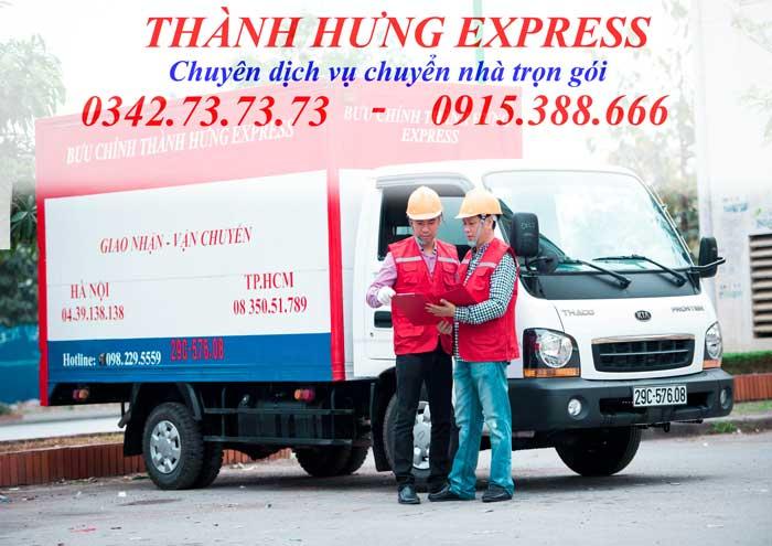 Taxi tải thành hưng tại Thái Bình giá rẻ