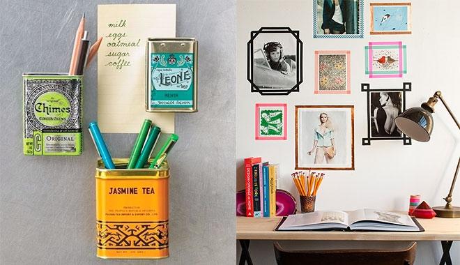 trang trí phòng trọ bằng khung ảnh