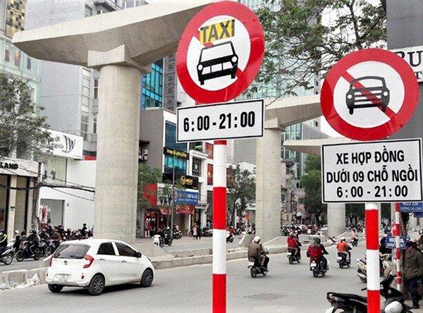 từ ngày 1/7 lái xe lưu ý các biển cấm xe tải