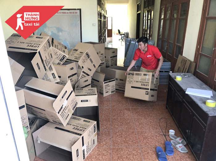 sử dụng thùng carton hiệu quả khi chuyển nhà