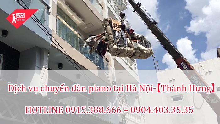 Dịch vụ chuyển đàn piano tại Hà Nội