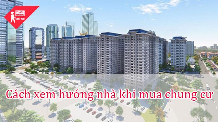 cách xem hướng nhà chung cư