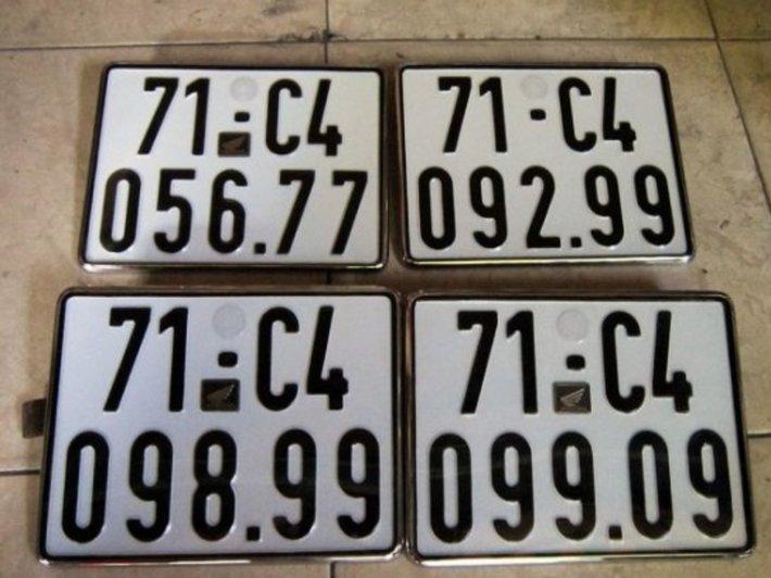ý nghĩa của biển số xe 5 số