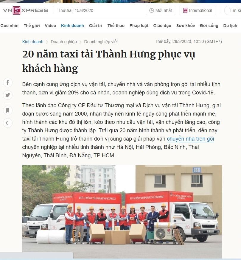 Báo chí khẳng định thương hiệu Thành Hưng