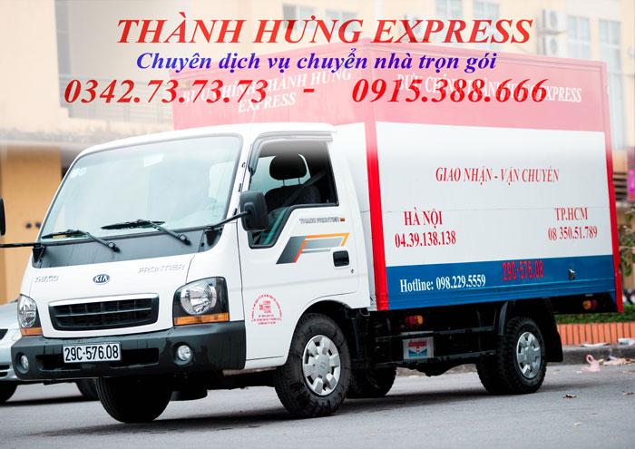 thuê xe tải chở hàng của Thành Hưng