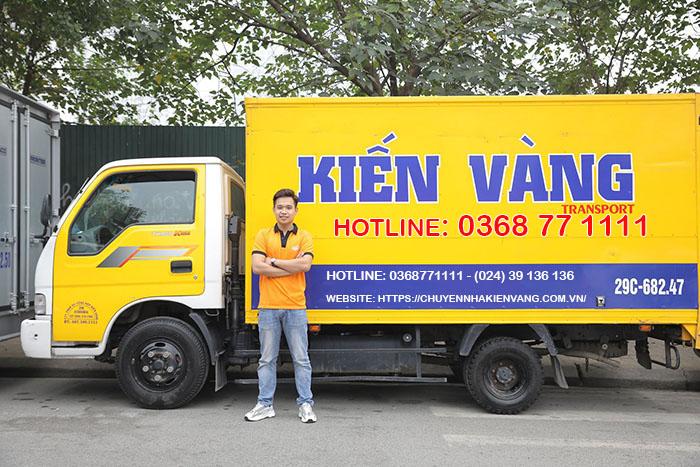 Kiến Vàng - dịch vụ chuyển nhà trọn gói