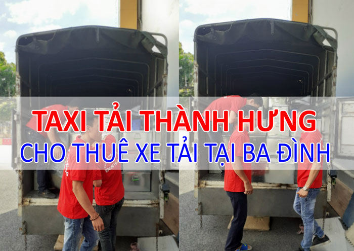 Dịch vụ cho thuê xe tải chở hàng tại Ba Đình