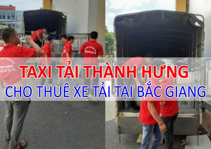Dịch vụ cho thuê xe tải chở hàng tại Bắc Giang