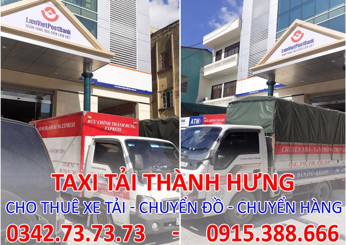 Dịch vụ cho thuê xe tải chở hàng tại Bắc Ninh giá rẻ