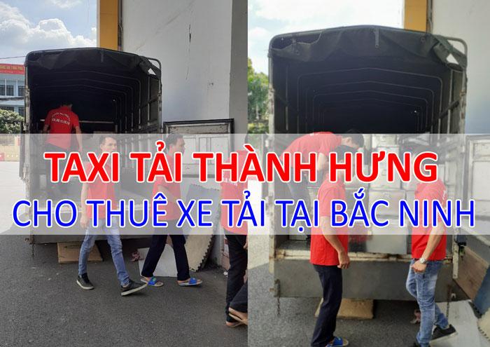 Dịch vụ cho thuê xe tải chở hàng tại Bắc Ninh
