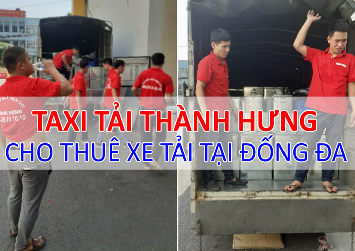 Dịch vụ cho thuê xe tải chở hàng tại Đống Đa