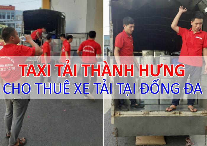 Dịch vụ cho thuê xe tải chở hàng tại Đống Đa