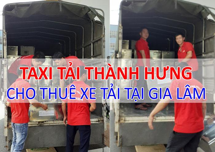 Dịch vụ cho thuê xe tải chở hàng tại Gia Lâm