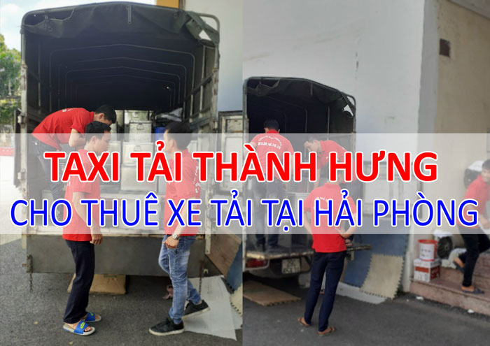 Dịch vụ cho thuê xe tải chở hàng tại Hải Phòng