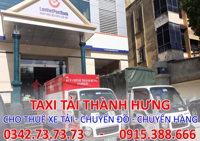 Dịch vụ cho thuê xe tải chở hàng tại Hoàng Mai chuyên nghiệp