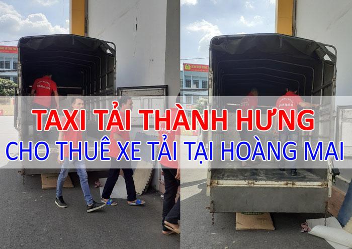 Dịch vụ cho thuê xe tải chở hàng tại Hoàng Mai