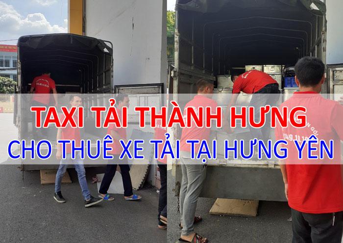Dịch vụ cho thuê xe tải chở hàng tại Hưng Yên