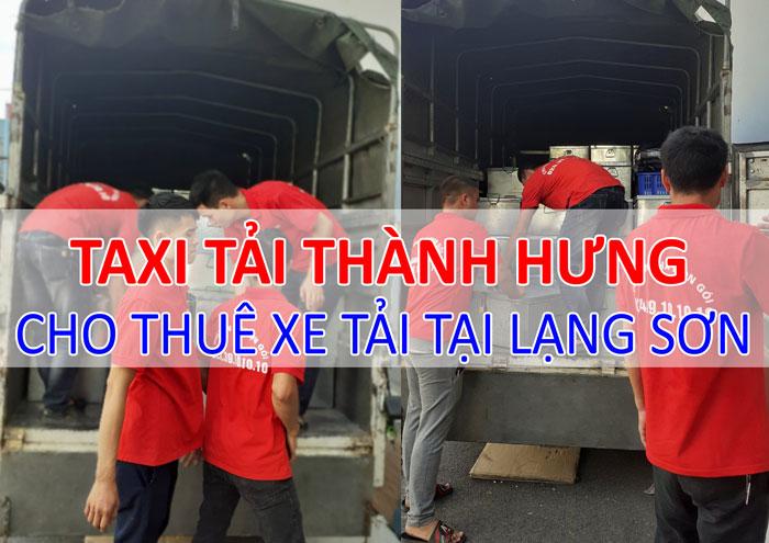Dịch vụ cho thuê xe tải chở hàng tại Lạng Sơn