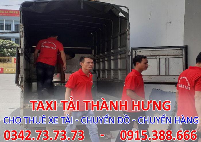 Dịch vụ cho thuê xe tải chở hàng tại Lào Cai giá rẻ