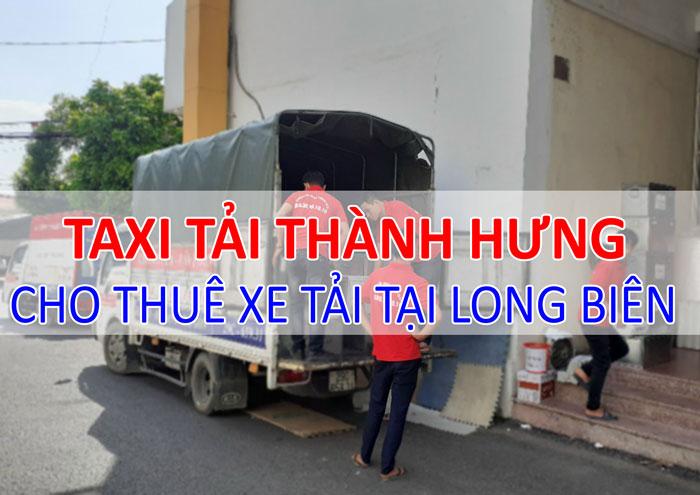 Dịch vụ cho thuê xe tải chở hàng tại Long Biên