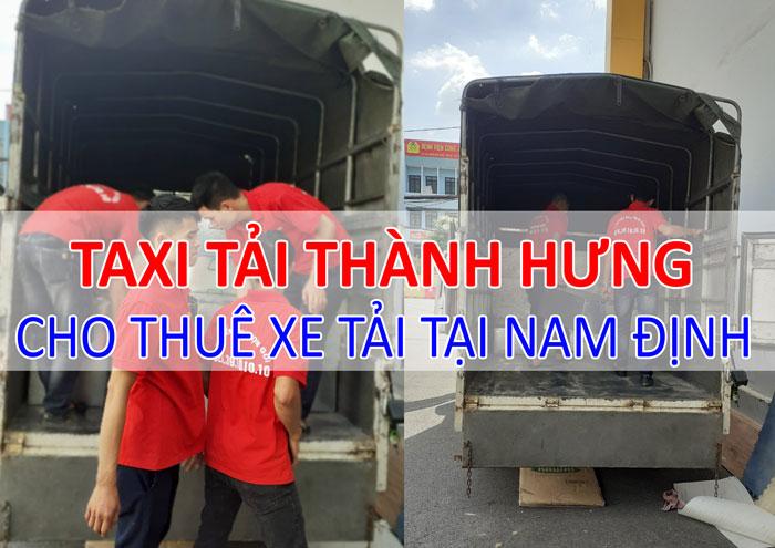 Dịch vụ cho thuê xe tải chở hàng tại Nam Định