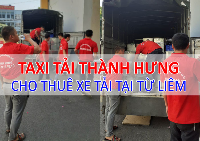 Dịch vụ cho thuê xe tải chở hàng tại Từ Liêm