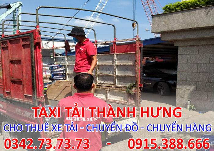 Dịch vụ cho thuê xe tải chở hàng tại Vĩnh Phúc chuyên nghiệp