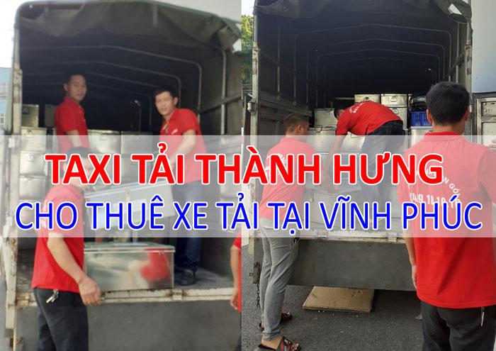 Dịch vụ cho thuê xe tải chở hàng tại Vĩnh Phúc