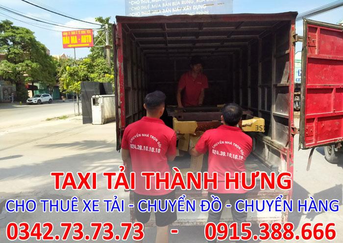 Dịch vụ cho thuê xe tải chuyển hàng tại Hoàn Kiếm chuyên nghiệp