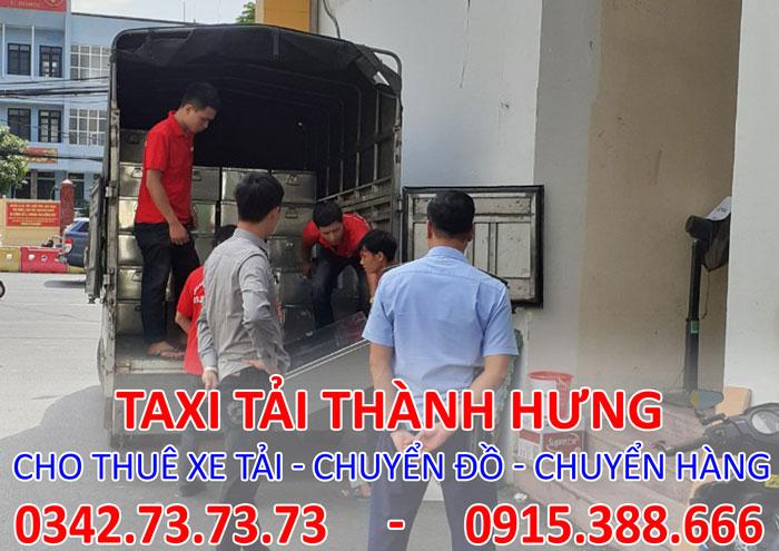 Dịch vụ cho thuê xe tải chuyển hàng tại Thanh Xuân giá rẻ