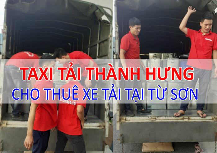 Dịch vụ cho thuê xe tải chuyển hàng tại Từ Sơn