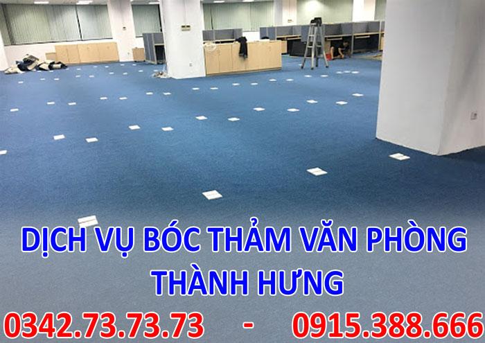 Dịch vụ bóc thảm văn phòng tại Hà Nội