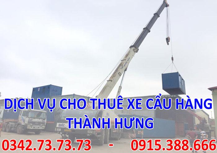 Dịch vụ cẩu hàng tại Hà Nội