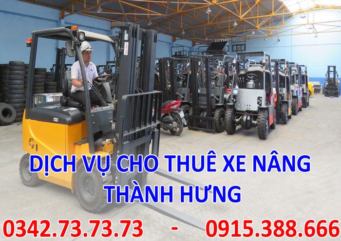 Dịch vụ cho thuê xe nâng tại Hà Nội giá rẻ