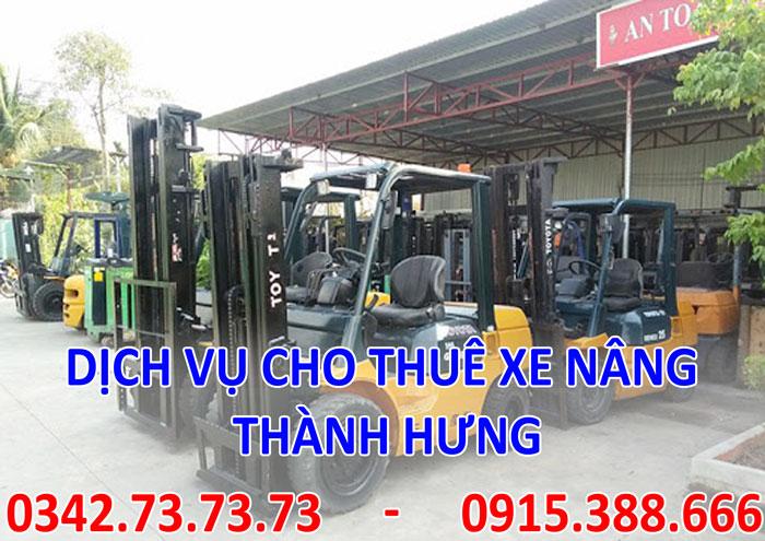 Dịch vụ cho thuê xe nâng tại Hà Nội