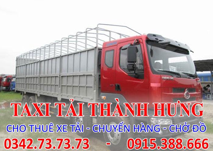 Dịch vụ cho thuê xe tải 15 tấn Thái Bình đi Tp. HCM
