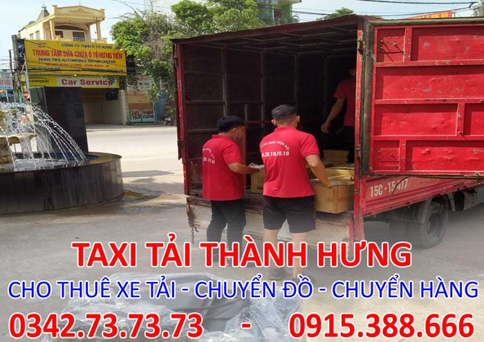 Dịch vụ cho thuê xe tải 8 tấn Thái Bình đi Tp. HCM giá rẻ
