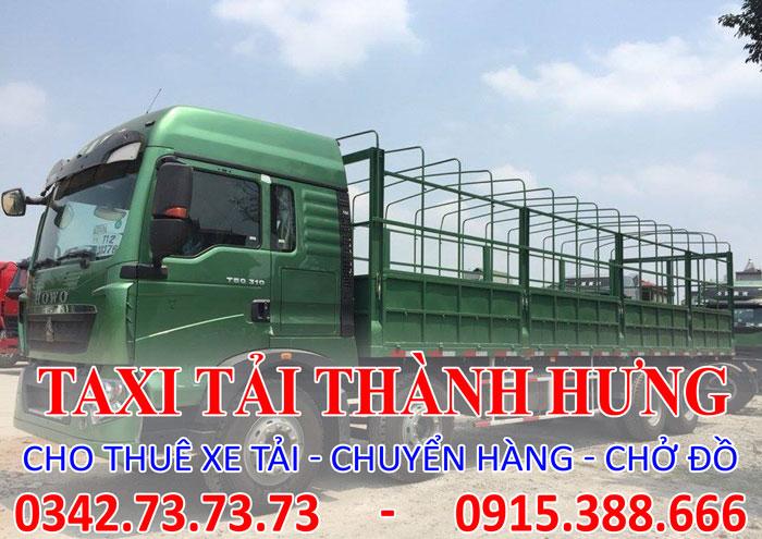 Dịch vụ cho thuê xe tải 8 tấn Thái Bình đi Tp. HCM