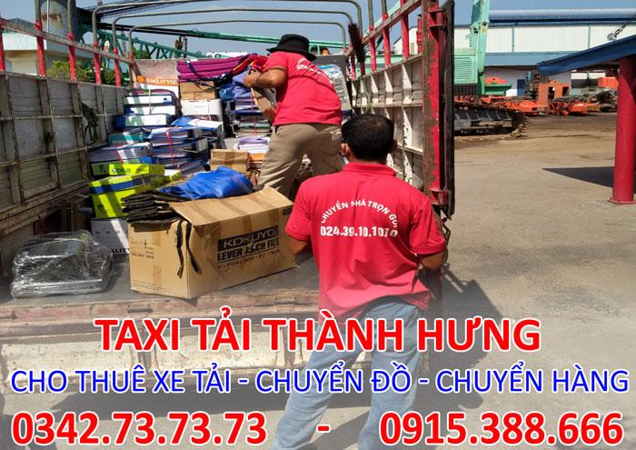 Dịch vụ cho thuê xe tải thái bình đi Tp. HCM chuyên nghiệp